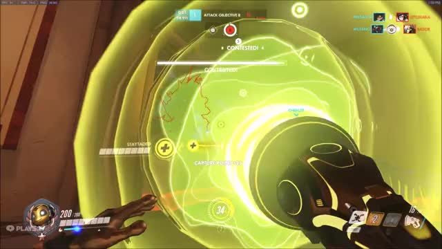 Watch Overwatch Blooper GIF by tiff1 (@callmesmiley) on Gfycat. Discover more Overwatch, funny, gaming, mcree, ult GIFs on Gfycat