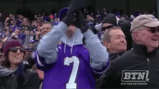 Watch and share Northwestern Fans GIFs on Gfycat
