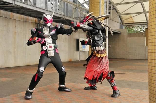 Watch and share Cosmicgirls GIFs and Kamen Rider GIFs on Gfycat
