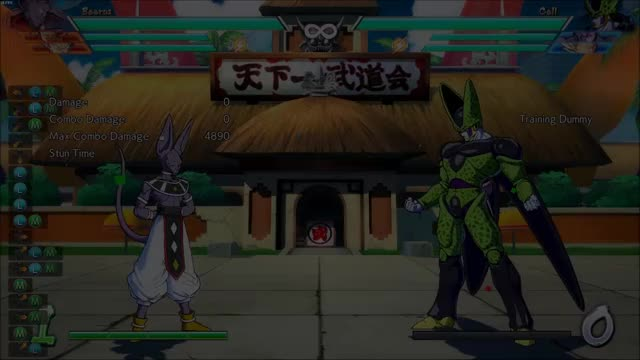 Watch DBFZ Beerus Practice GIF by @the_wrathberry on Gfycat. Discover more related GIFs on Gfycat