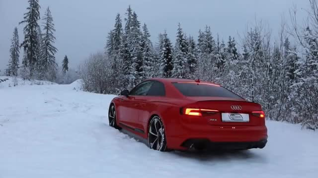 Watch and share CAN THE 2018 AUDI RS5 HANDLE THE SNOW? - 450hp/600Nm/BiTurbo To The Test GIFs on Gfycat