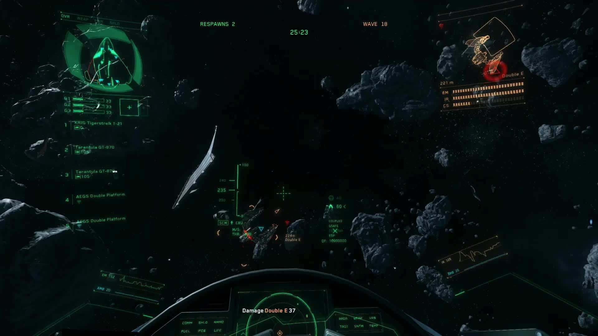 gaming_gifs, spacesimgames, starcitizen, Tight, Close-Quarters Dogfight GIFs
