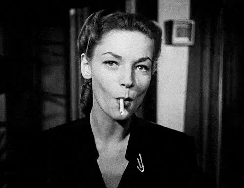 Watch this GIF on Gfycat. Discover more lauren bacall GIFs on Gfycat
