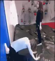 HMC while I try and do a back bend GIFs