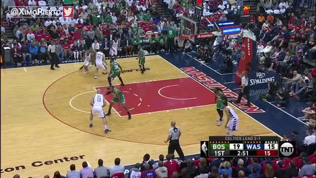 Watch and share Boston Celtics Vs Washington Wizards - Game 4 - Full Game Highlights | May 7, 2017 | NBA Playoffs GIFs on Gfycat