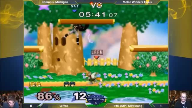 Mew2King 3-0s Every God and Leffen