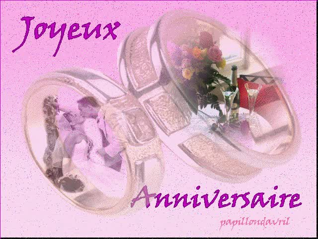 Watch and share Carte Anniversaire animated stickers on Gfycat