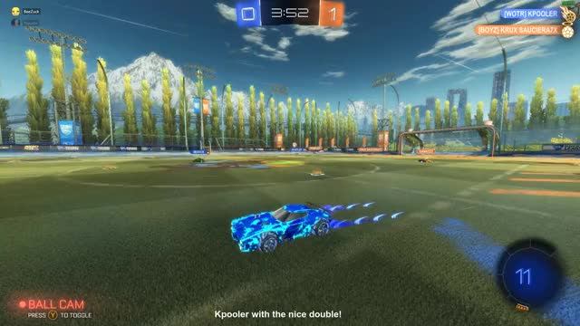 Watch and share Rocket League GIFs and Nice Shot GIFs by BeeZuck on Gfycat