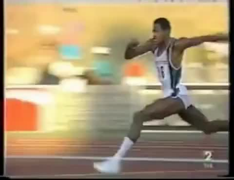 Watch and share Javier Sotomayor - High Jump World Record - 2.45 M (8.046 Ft) GIFs on Gfycat