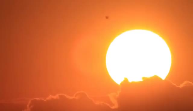 Watch and share Beautiful Sunrise. Rising Morning Sun Over The Ocean GIFs on Gfycat