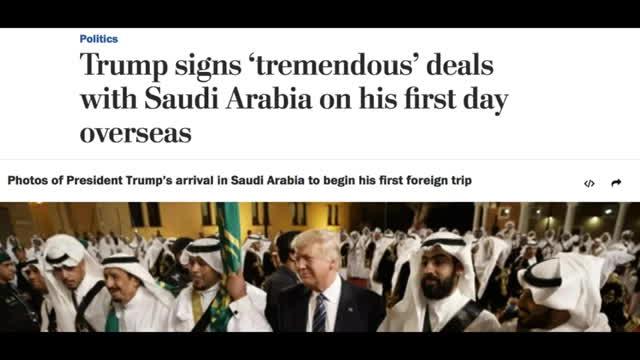 Trump Makes An UNBELIEVABLE Deal With Saudi Arabia! Wait Unt GIFs