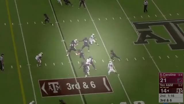 Watch NCAAF 2015 | South Carolina vs. Texas A&M Full Game | NCAAF Week 9 GIF on Gfycat. Discover more American Football (Sport), College Football (Sports Association), Full, Full game, NCAAF, NCAAF 2015, NCAAF Week 9, South Carolina, Texas (US State), Texas A&M University (College/University), football GIFs on Gfycat