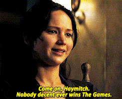 jennifer lawrence, deadhpool: What's it say that Peeta was here 45 minutes ago... GIFs