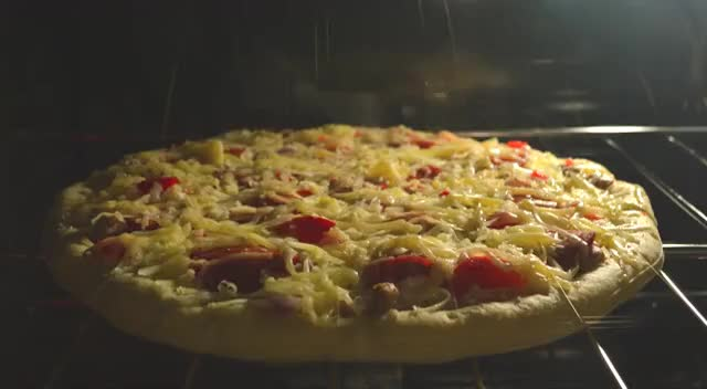 Watch and share Sicilian Pizza Oven Baking Time Lapse @ 4K GIFs on Gfycat