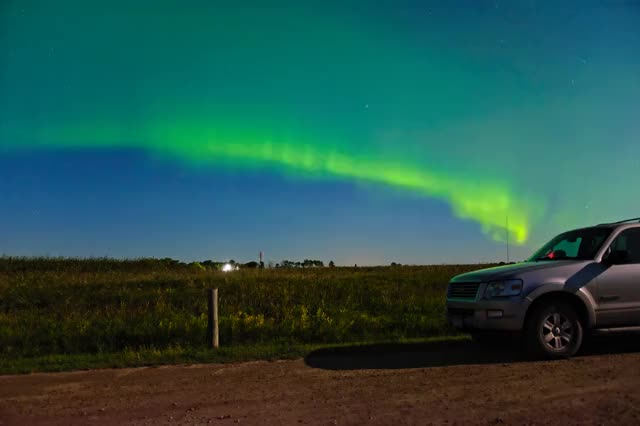 Watch and share Aurora Borealis (September 8th, 2017) (60fps) GIFs by Elijah Mathews on Gfycat