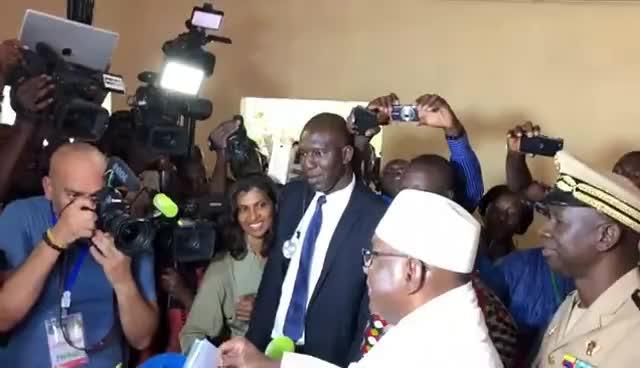 2018, Elections, buzz, candidat, ibk, mali, malibuzz, presidentielle, vote, webtv, #Mali / #Elections:  Le candidat Ibrahim Boubacar Keita #iBK a #voté GIFs