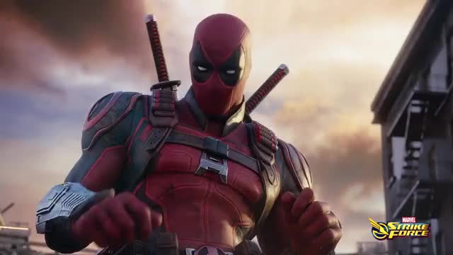 Watch MARVEL STRIKE FORCE: Deadpool Trailer (2018) GIF on Gfycat. Discover more 2018, Game, Marvel, deadpool, trailer GIFs on Gfycat