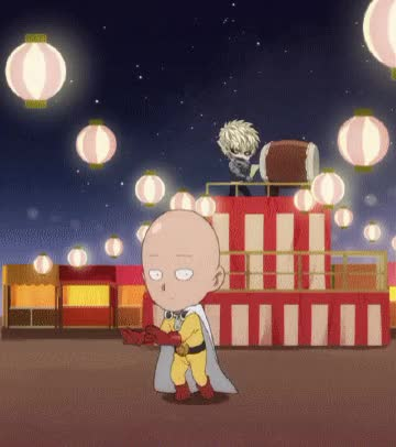 Watch and share One Punch Man GIFs by Reactions on Gfycat