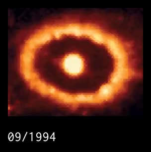 Watch 15-year Timelapse of Supernova 1987a by Hubble GIF on Gfycat. Discover more related GIFs on Gfycat