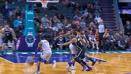 Watch and share Charlotte Hornets GIFs by Off-Hand on Gfycat