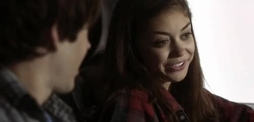 Watch and share Sarah Hyland GIFs on Gfycat