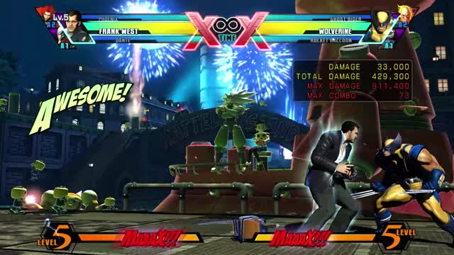 Watch and share ULTIMATE MARVEL VS. CAPCOM 3 2019-05-06 16-48-02 GIFs on Gfycat