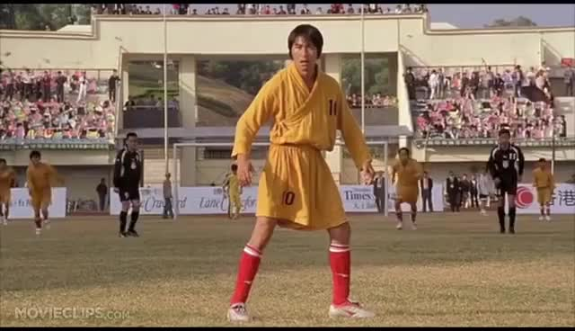 Watch Shaolin Soccer (9/12) Movie CLIP - The Evil Goalie (2001) HD GIF on Gfycat. Discover more related GIFs on Gfycat