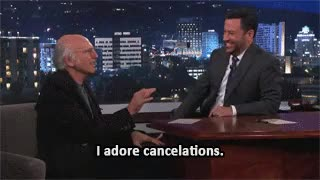 Watch and share Larry David GIFs and Cancelled GIFs on Gfycat