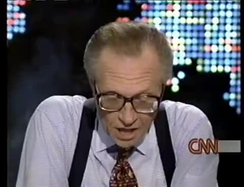 larry king, Donald Trump's Sit-Down Interview With Larry King GIFs