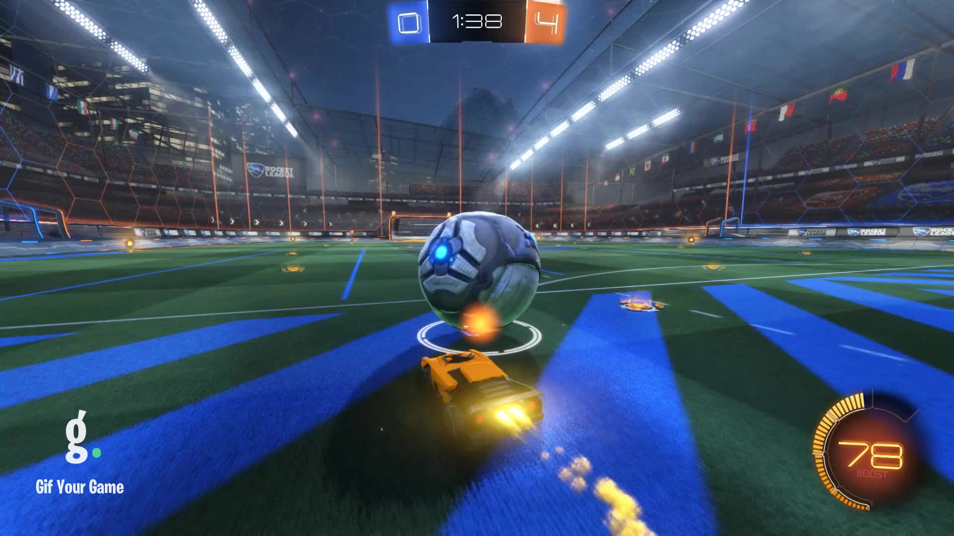 Gif Your Game, GifYourGame, Goal, JAG | Purple, Rocket League, RocketLeague, Goal 5: JAG | Purple GIFs