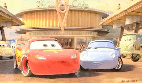 Watch and share Lightning Mcqueen Sally GIFs on Gfycat