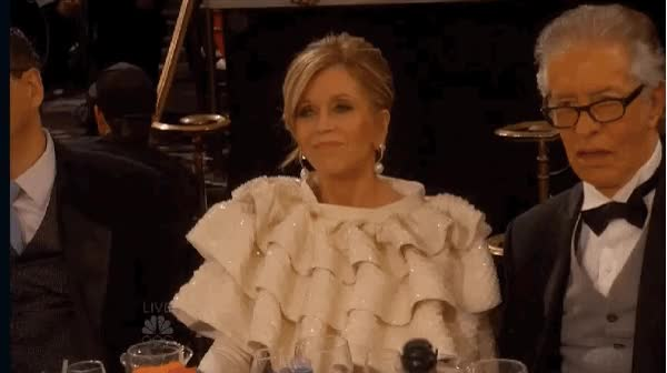 Watch and share Jane Fonda animated stickers on Gfycat