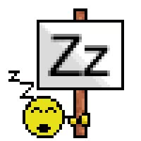 Watch and share Smiley - Zzzzz animated stickers on Gfycat