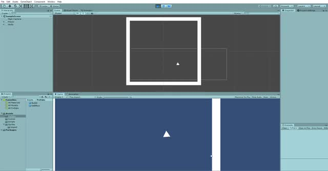 Watch and share Unity 2018.4.9f1 Personal - SampleScene.unity - Shooter - PC, Mac & Linux Standalone DX11  2019-10-21 08-07-14 GIFs on Gfycat