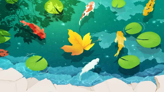 Watch and share Koi Fish GIFs by guldman on Gfycat