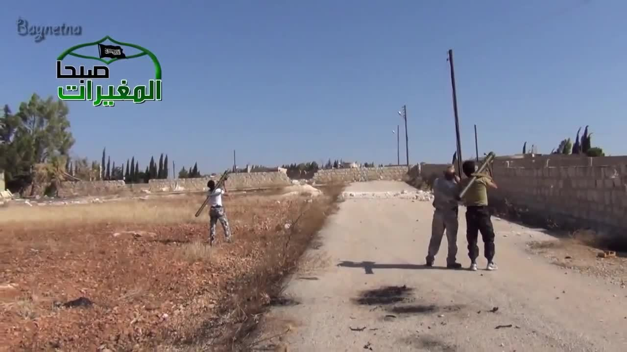combatfootage, Syrian rebels shoot down government jet with MANPADS GIFs