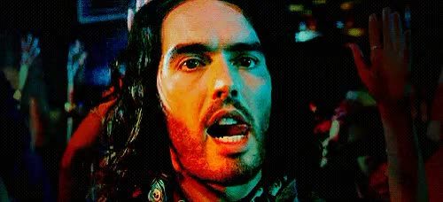 Watch and share Russell Brand GIFs and Licking GIFs on Gfycat