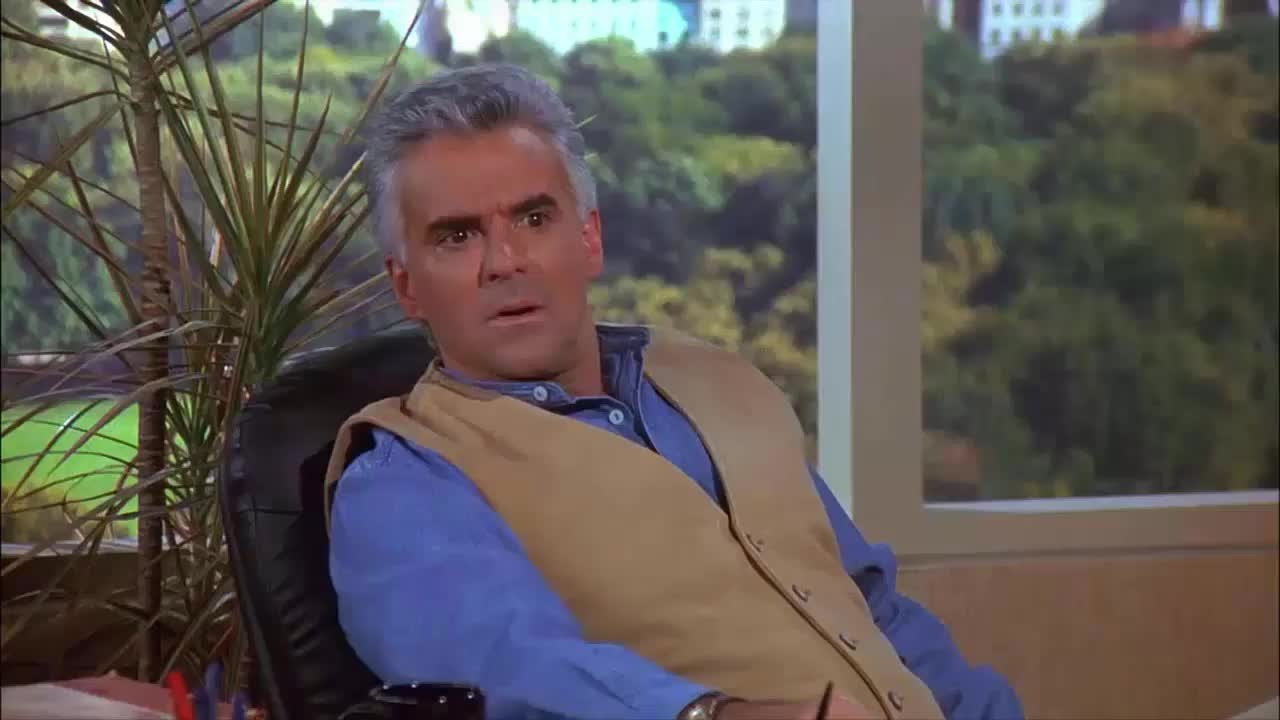 john ohurley, peterman, reactions, seinfeld, who are you, Peterman Who Are You Seinfeld GIFs