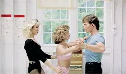 Watch and share Patrick Swayze GIFs and Dirty Dancing GIFs on Gfycat
