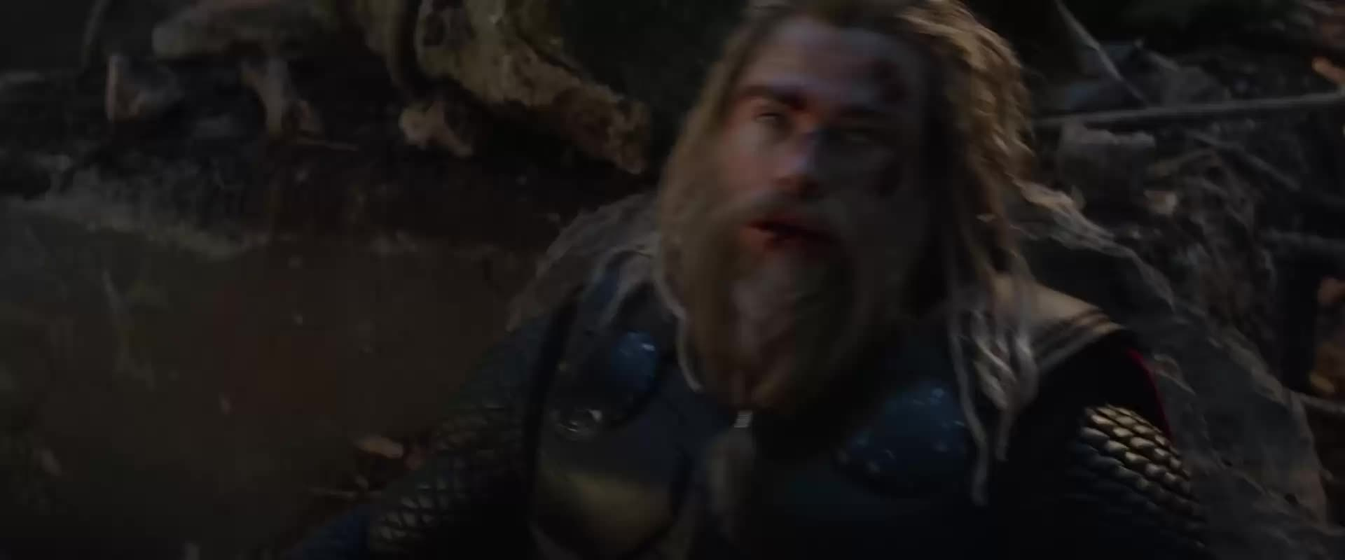 Thor grapples with Thanos GIFs