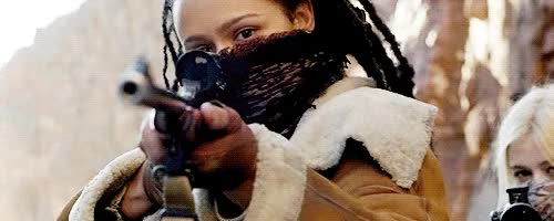 Watch and share Nathalie Emmanuel GIFs and Gun GIFs on Gfycat