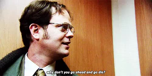 Watch and share Dwight Schrute GIFs and The Office GIFs on Gfycat