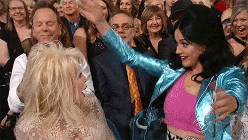 Watch and share Dolly Parton GIFs and Katy Perry GIFs by Reactions on Gfycat