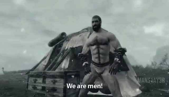"""Watch and share 1 Minute Of """"We Are Men! Manly Men!"""" [HD] GIFs on Gfycat"""