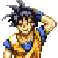 Watch and share Goku Scratching His Head animated stickers on Gfycat