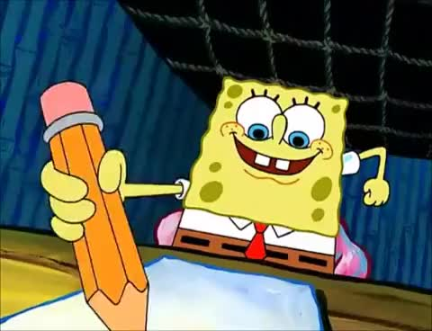 Watch and share An Essay By Spongebob Squarepants GIFs on Gfycat