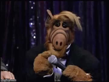 Watch this alf GIF on Gfycat. Discover more alf, alien life form, comedy, sitcom GIFs on Gfycat
