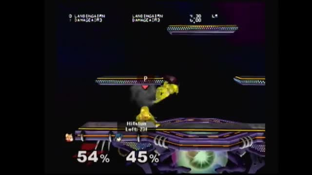 Watch and share Fox SD Nair Counter On Marth SH U-air  GIFs by syrox on Gfycat