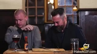 Watch and share Sean Evans And Chili Klaus Eat The Carolina Reaper, The World's Hottest Chili Pepper | Hot Ones GIFs on Gfycat