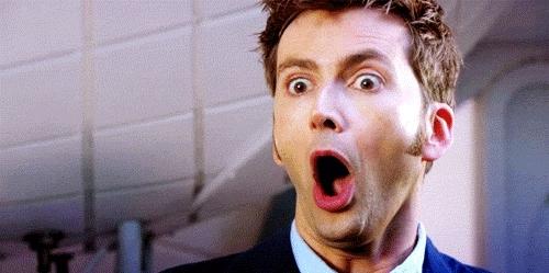 amazed, amazing, holy cow, no way, whoa, woah, wow, Dr Who Amazed GIFs